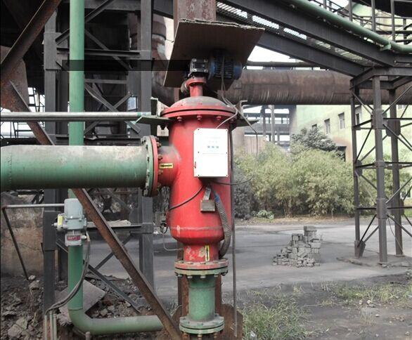 简阳五洲水泥厂~自清洗过滤器使用现场
