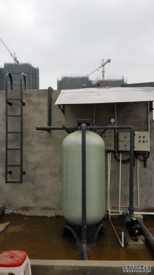 国电雅安分公司~石英砂活性炭过滤器运用现场